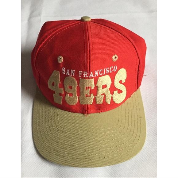 Vintage San Francisco 49ers SnapBack Hat 1fb1aefd6